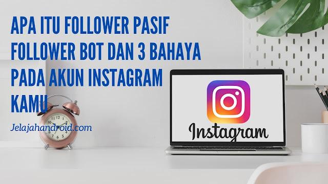 Apa itu Follower Pasif Follower Bot dan 3 Bahaya Pada Akun Instagram Kamu
