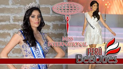 María José Barrios Dubon es Miss International Guatemala 2019