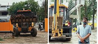 लखनऊ : पार्षद मिथिलेष चौहान द्वारा विकास नगर क्षेत्र में लगातार साफ सफाई का कार्य जारी