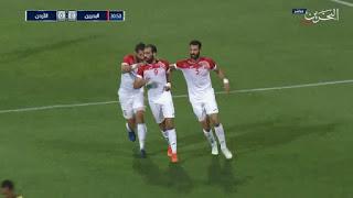 اهداف مباراة الاردن والبحرين(2-1) الودية