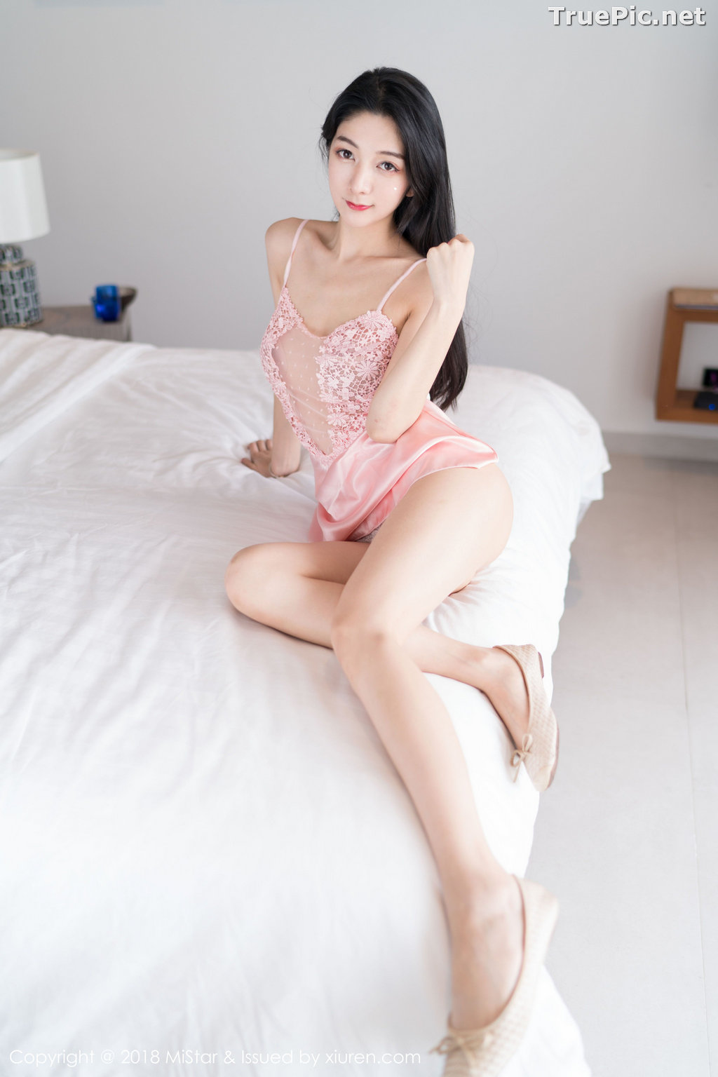 Image MiStar Vol.238 - Chinese Model - Xiao Reba (Angela小热巴) - Sleep Dress and Monokini - TruePic.net - Picture-5
