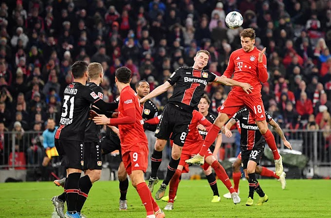 Bayern Munich suffer narrow defeat to Bayer Leverkusen- Player Ratings