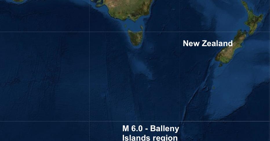 The Big Wobble: An earthquake of magnitude 6.0 struck the ...