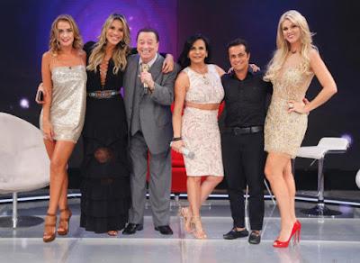 Lola, Ciça, Raul, Gretchen, Thammy e Val  - Crédito: Rodrigo Belentani /SBT