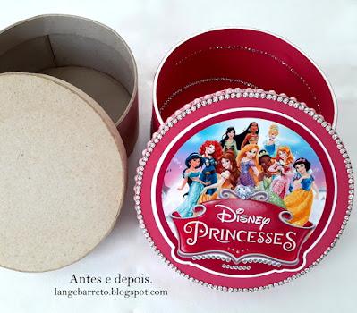 Caixa Princesas