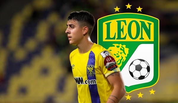 Oficial: Club León, firma Colombatto