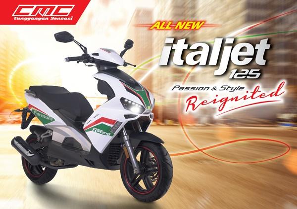 CMC Italjet 125 Motor Matic dari Italia