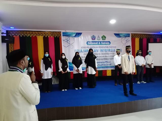 Pengurus Daerah PII Kabupaten Pidie Jaya resmi di lantik