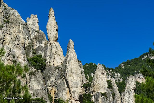 Formaciones rocosas en Matarraña