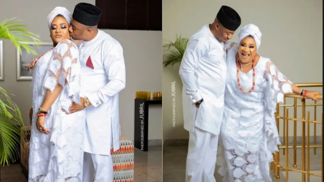 I will never let my Husband have a female driver- Nkechi Blessing reveals