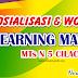 Banner Sosialisasi E Learning Sekolah /Madrasah cdr