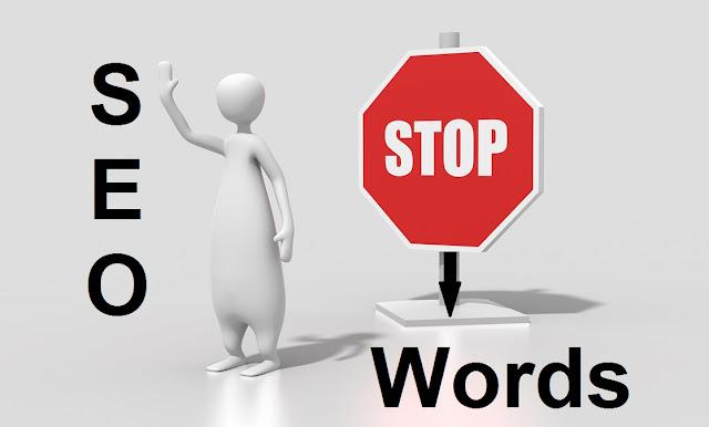 seo stop words list