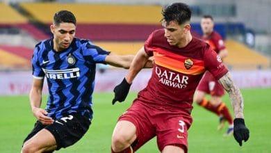 تقرير مباراة انتر ميلان وروما ضمن الجوله السادسة والثلاثون من الدوري الايطالي