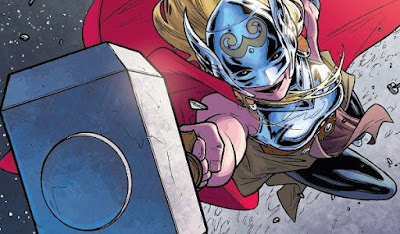 First Look At Jane Foster's Mighty Thor In Thor: Love & Thunder