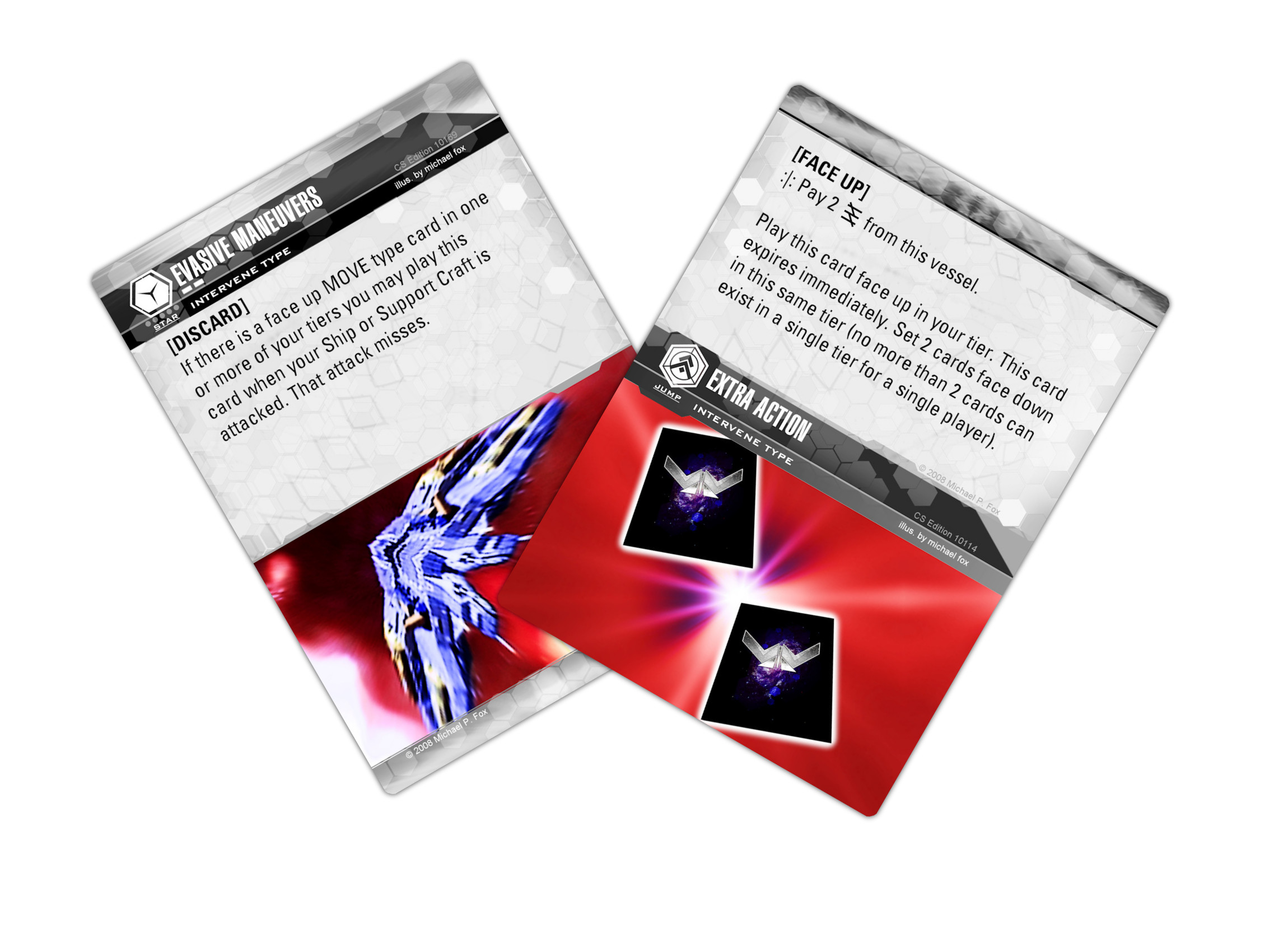 Dog Fight: Starship Edition card redesign
