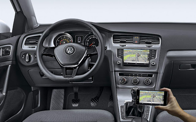 VW Golf 2017 Comfortline TSI - interior