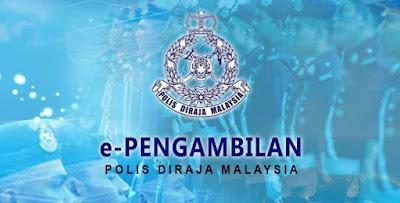 e-Pengambilan PDRM : Permohonan Polis Online
