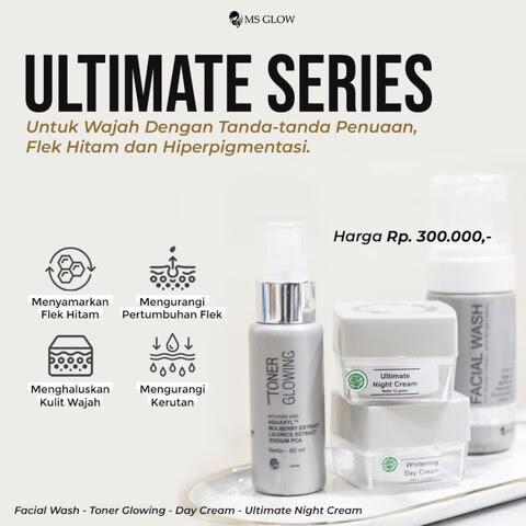 Paket MS Glow Ultimate Series