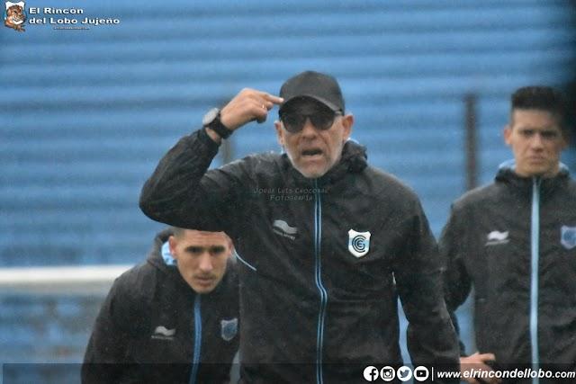 Marcelo Herrera dirigió su primera práctica en Gimnasia
