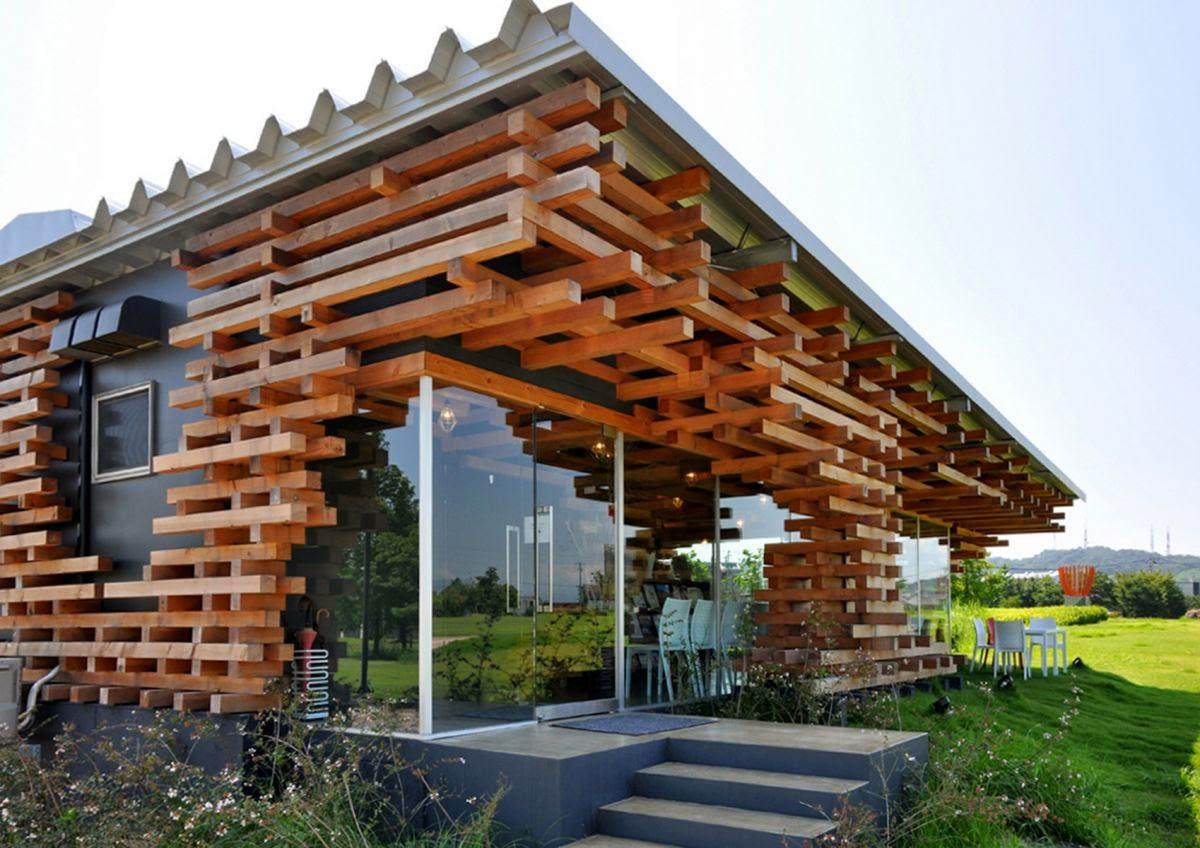 Foto Desain Rumah Unik Minimalis Interior Eksterior Cafe Melba Designphase
