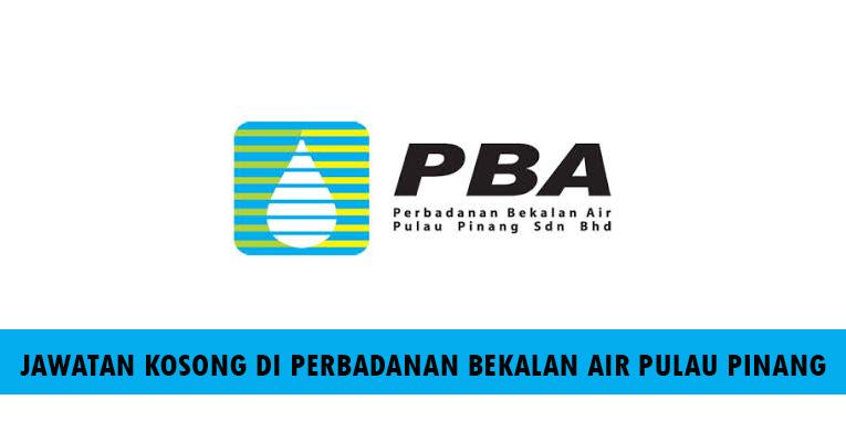 Kekosongan Terkini di Perbadanan Bekalan Air Pulau Pinang Sdn Bhd