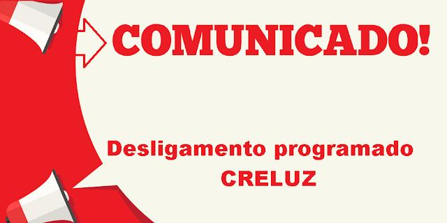 Desligamento programado Creluz