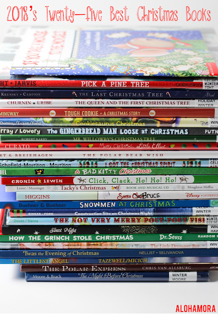 The best 25 Christmas Picture Books for 2018.  Great read alouds, touching stories. Sweet. Funny, Unique, Original, Classics. How to Raise Readers... read to your kids. Parents, teachers, librarian, Alohamora: Open a Book alohamoraopenabook http://alohamoraopenabook.blogspot.com/