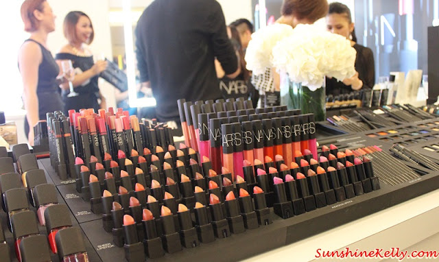 NARS Mid Valley Celebration Party, NARS Malaysia, NARS Mid Valley, NARS Private Screening Fall 2015 Color Collection, NARS Fall 2015, NARS AW15, NARS Roadshow, NARS Party