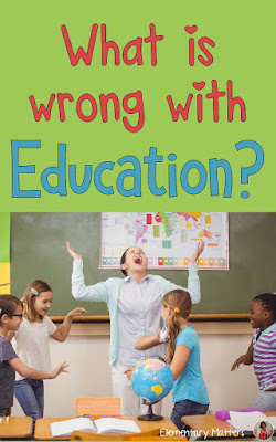 What's wrong with education? The only way to solve problems is to identify the problem. I'd love your input! Here are 5 ideas to get you started!