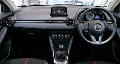 Interior All-new Mazda 2 Manual