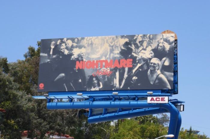 Halsey Nightmare billboard