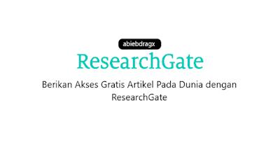 ResearchGate. Artikel hal hal penting seputar researchgate. Apa itu research gate? Apa kelebihan dan manfaatnya? Dan bagaimana caranya login atau membuat account akun di researchgate? Bagaimana cara membagikan artikel jurnal di researchgate? abiebdragx