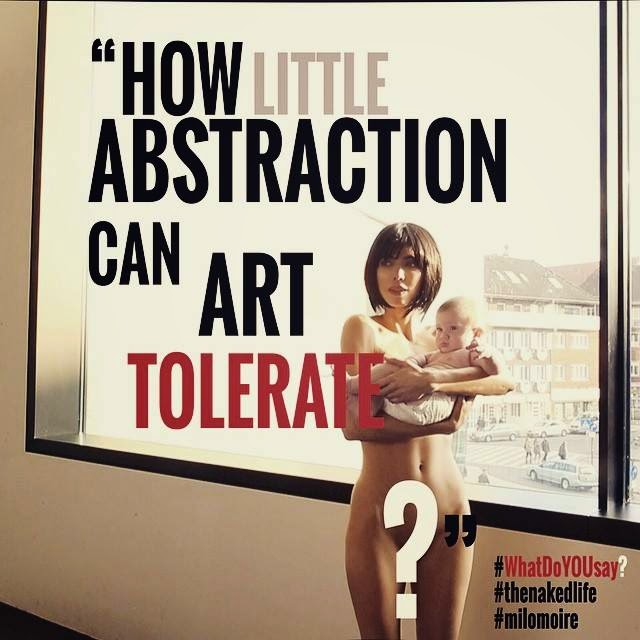 La Vida Desnuda Cuanta Abstracción Puede El Arte Tolerar Milo