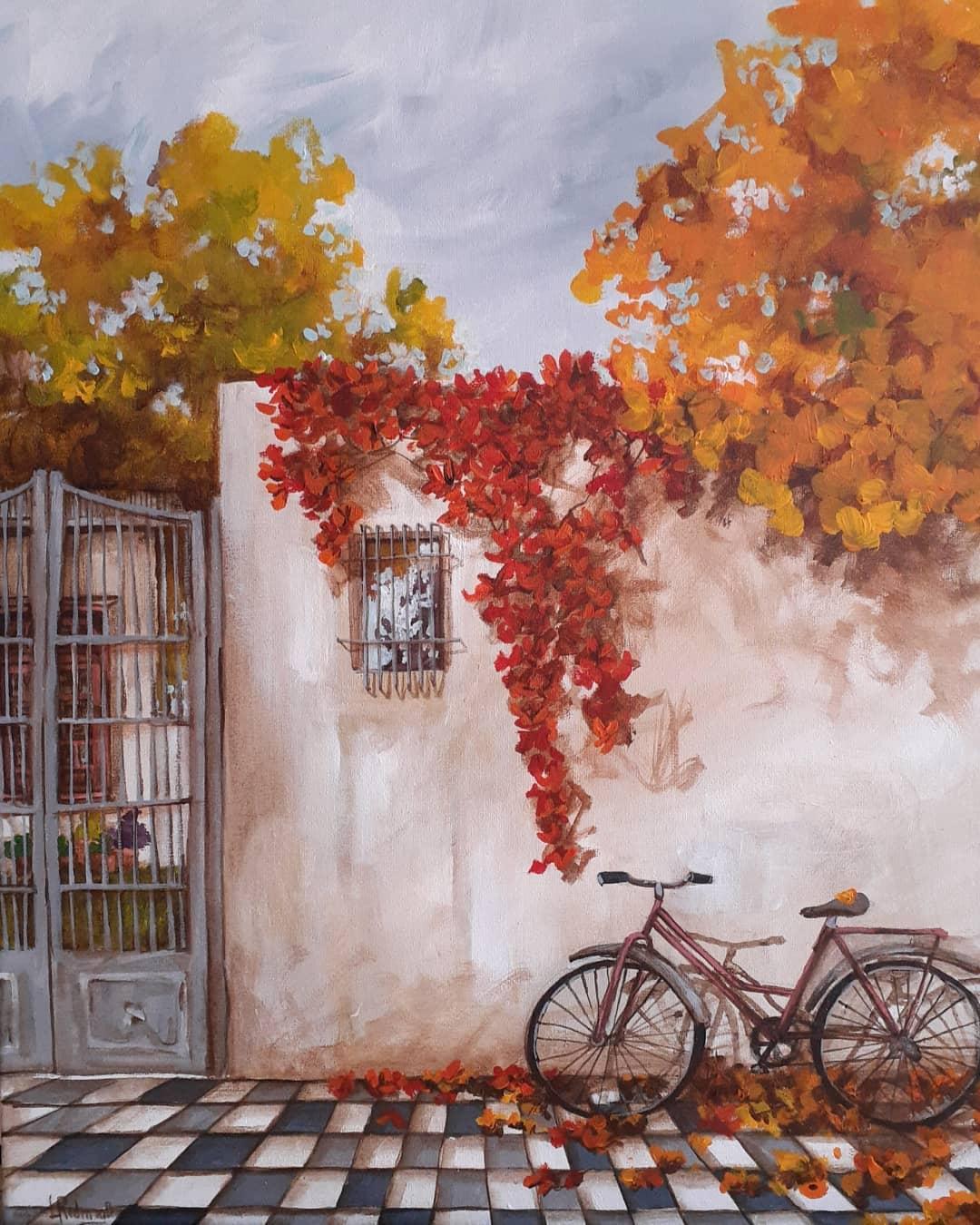 Pintura patio