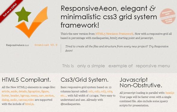 Responsive Aeon Framework