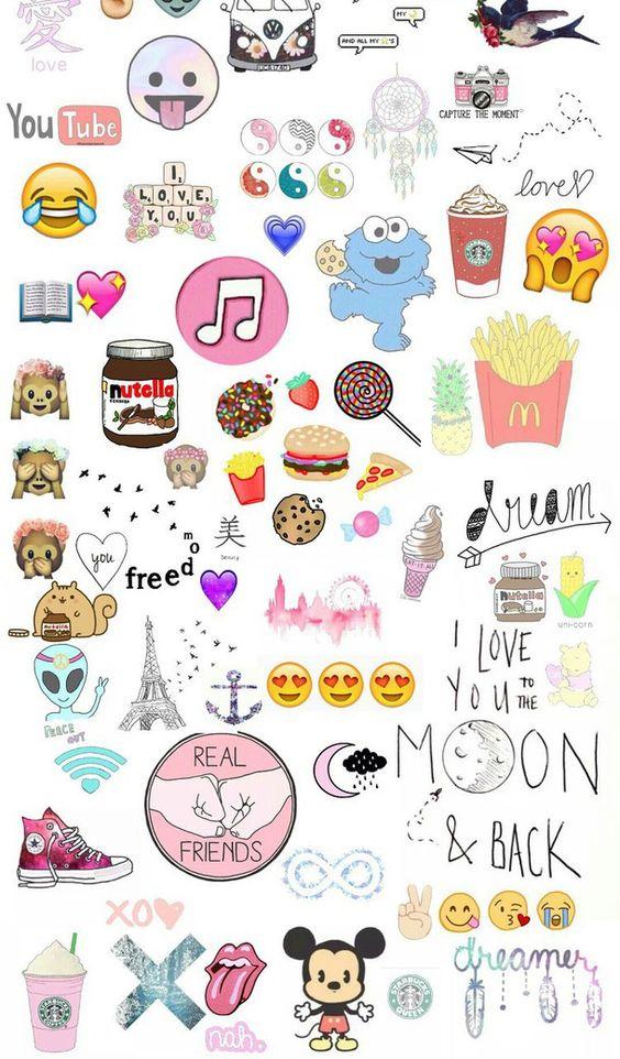 emoji wallpaper background full paper - photo #32