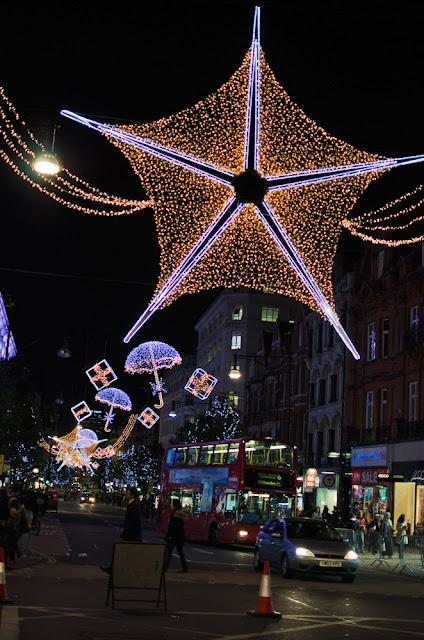 Oxford Street Christmas Lights, London, UK