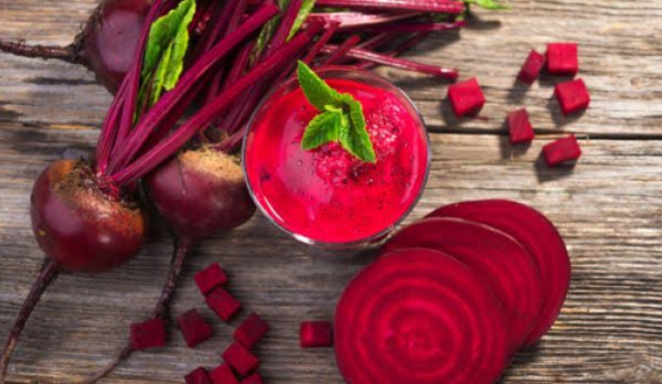 What are the benefits of red beetroot for anemia ?