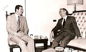 """هل تعلم ان الصهيوني """"ميشيل عفلق"""" زار اسرائيل مرتين الأولة انتجت """"حزب البعث الفاشي"""" و الثانية انتجت """"المجرم صدام حسين"""""""