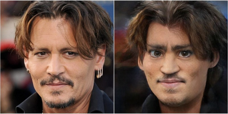 Johnny Depp Transform into Disney characters using neural networks