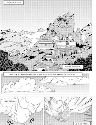 Review del manga Sálvame Pythie Vol. 4 de Elsa Brants - Ediciones Letrablanka