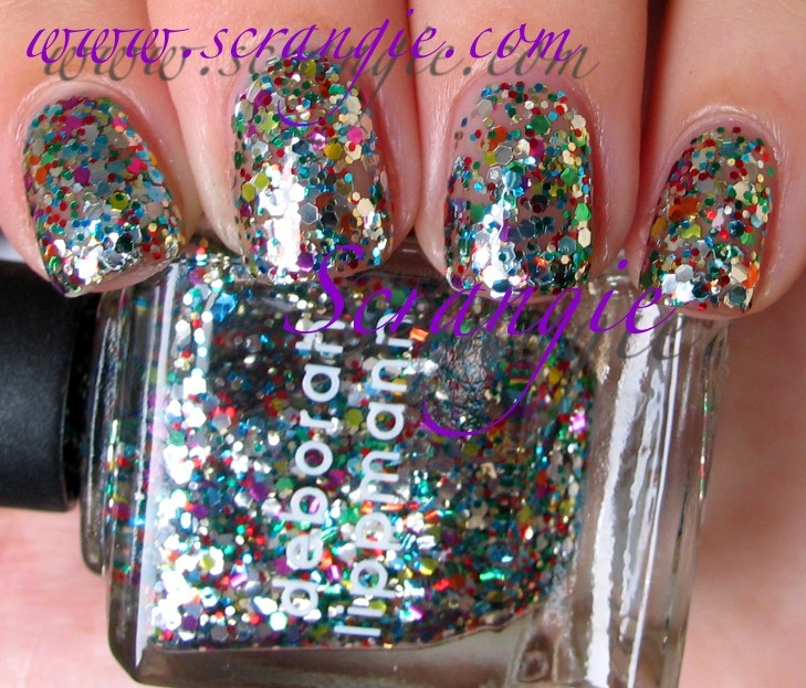 Different Shapes Sizes And Colors Of Birthday Party Glitter In A Clear Base This Color Has Become Shockingly Popular Almost Every Nail Enthusiast Ive