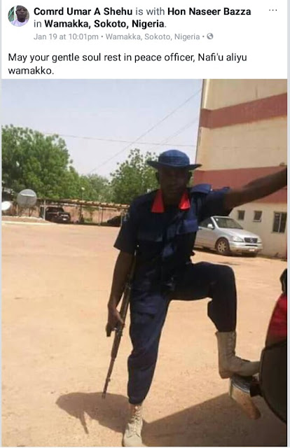 Photos: NSCDC officer killed in gun battle as joint security operatives rescue persons kidnapped by armed bandits in Sokoto