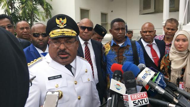 Gubernur Papua Tolak Proposal Inalum soal Kepemilikan Saham Freeport