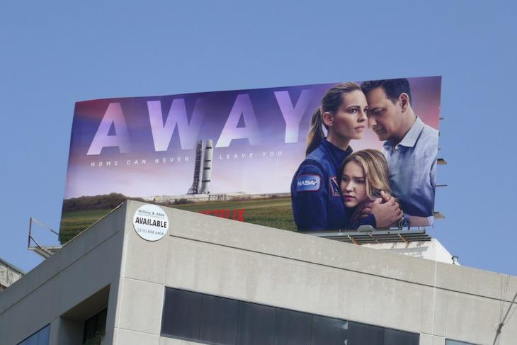 Away TV series billboard
