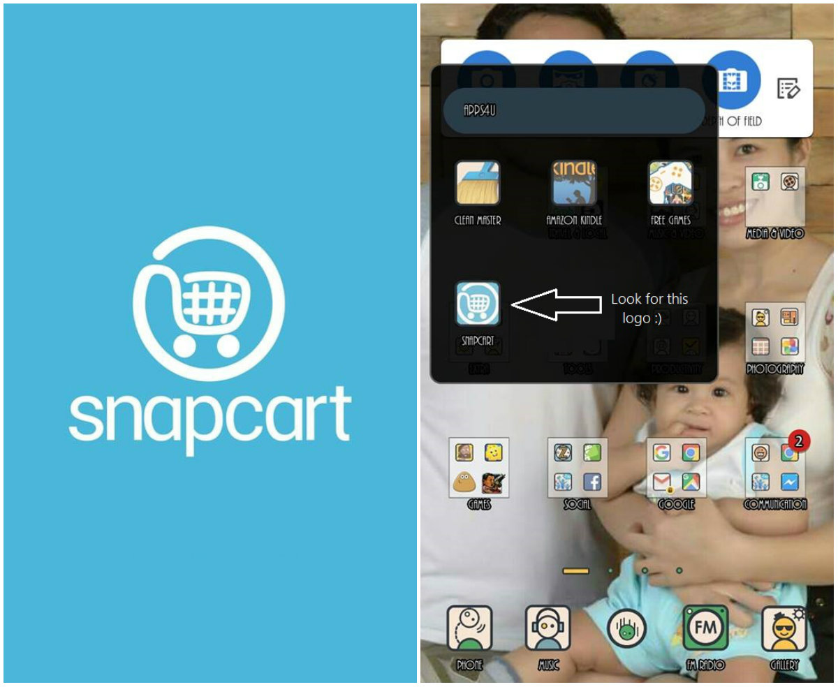 Snapcart PH: How I Earned Php 750 from my Grocery Receipts - Above