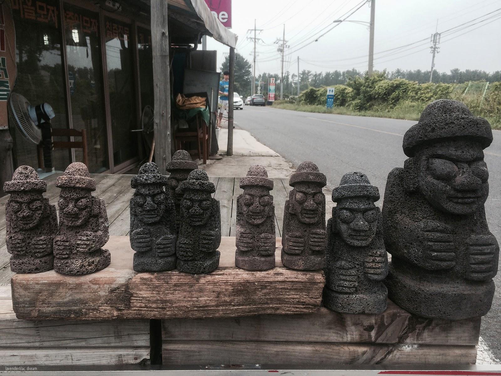 South Korea, Jeju Island, Yonsei University, YISS 2014, Mysterious Road, Dol Hareubang