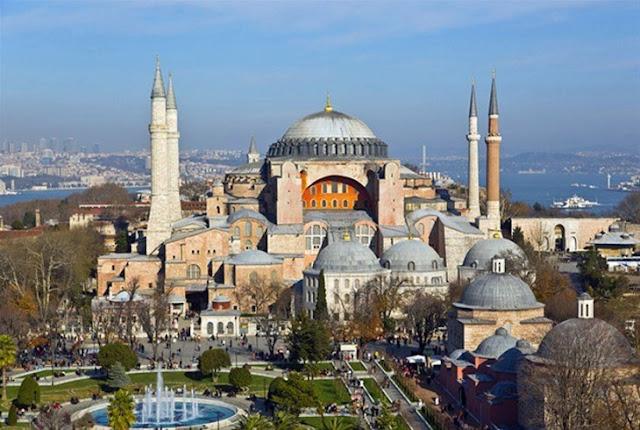 Η Τουρκία δεν προσέχει την Αγία Σοφία