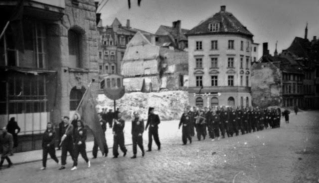 1946 год. Рига. Площадь 17 Июня (Домская площадь)