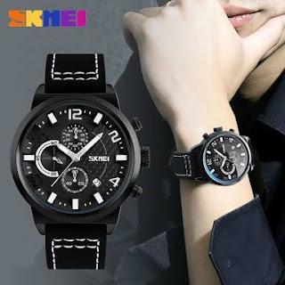Jual Jam Tangan Skmei ada chrono stopwatch